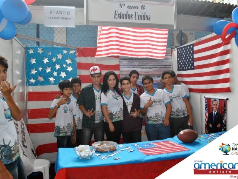 Feira De Artesanato Nos Estados Unidos ~ Feira das Nações 2013é um sucesso Colégio Americano Batista